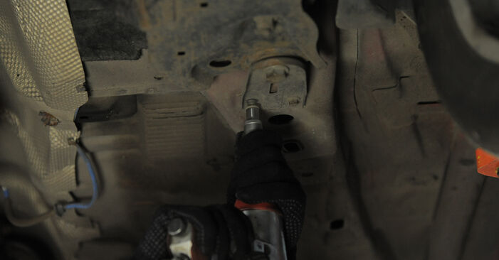 Changing of Control Arm on Ford Mondeo bwy 2000 won't be an issue if you follow this illustrated step-by-step guide