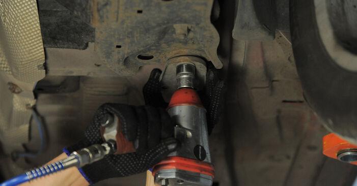 MONDEO III Estate (BWY) 2.2 TDCi 2003 Control Arm DIY replacement workshop manual