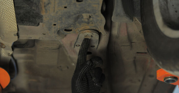 Step-by-step recommendations for DIY replacement Ford Mondeo bwy 2005 2.2 TDCi Control Arm