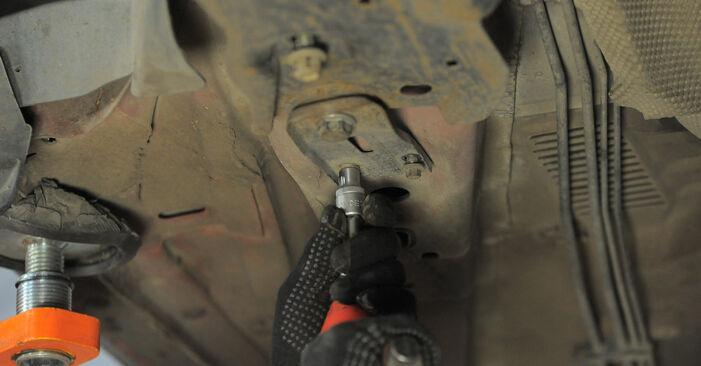 Wie lange benötigt das Auswechseln der Teile: Querlenker beim Ford Mondeo bwy 2000 - Detailliertes PDF-Tutorial