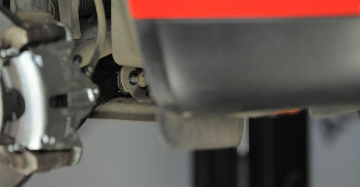 Wechseln Sie Querlenker beim Ford Mondeo bwy 2002 2.0 16V selber aus