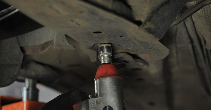 Stufenweiser Leitfaden zum Teilewechsel in Eigenregie von Ford Mondeo bwy 2005 2.2 TDCi Querlenker