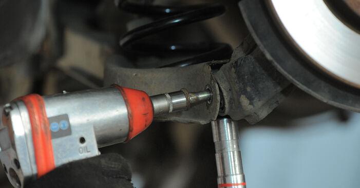 Federn Ford Mondeo Mk3 2.0 16V TDDi / TDCi 2002 wechseln: Kostenlose Reparaturhandbücher