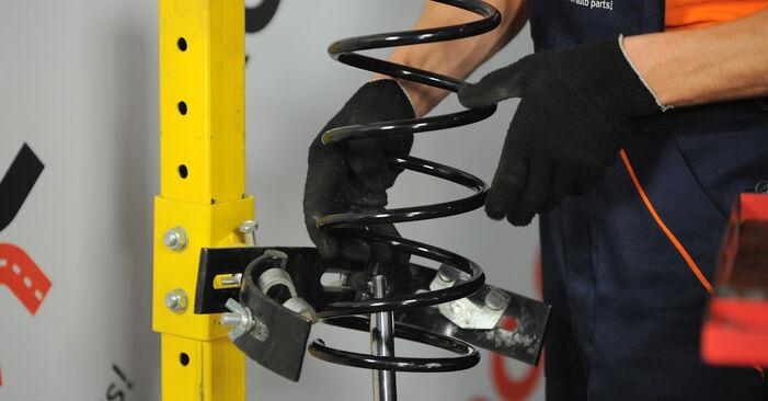 Federn beim FORD FOCUS 1.8 2011 selber erneuern - DIY-Manual