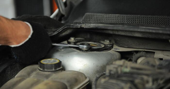 Tausch Tutorial Federn am FORD Focus II Limousine (DB_, FCH, DH) 2007 wechselt - Tipps und Tricks