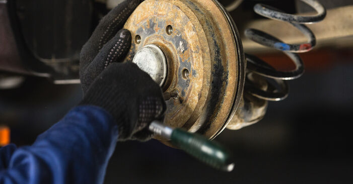 Need to know how to renew Brake Drum on MERCEDES-BENZ A-CLASS ? This free workshop manual will help you to do it yourself