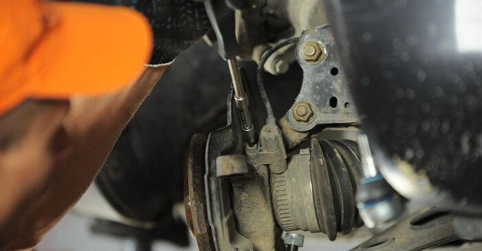 Zweckdienliche Tipps zum Austausch von Radlager beim MERCEDES-BENZ A-Klasse (W168) A 160 1.6 (168.033, 168.133) 2003
