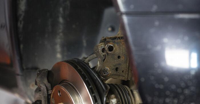 Tausch Tutorial Stoßdämpfer am MERCEDES-BENZ A-Klasse (W168) 2001 wechselt - Tipps und Tricks