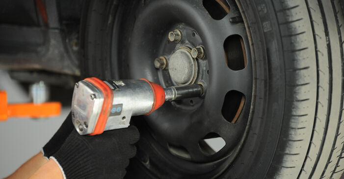 Stoßdämpfer Ihres Mercedes W168 A 160 CDI 1.7 (168.007) 1997 selbst Wechsel - Gratis Tutorial