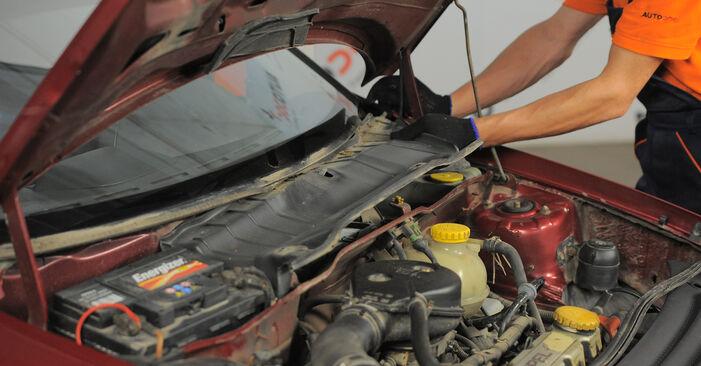 Wie man Innenraumfilter am OPEL Corsa B Schrägheck (S93) 1995 wechselt - Hinweise und Ratschläge
