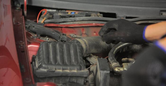 Corsa B Schrägheck (S93) 1.5 TD (F08, F68, M68) 1994 1.2 i 16V (F08, F68, M68) Luftfilter - Handbuch zum Wechsel und der Reparatur eigenständig