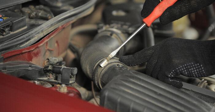 Luftfilter Opel Corsa S93 1.4 i (F08, F68, M68) 1995 wechseln: Kostenlose Reparaturhandbücher