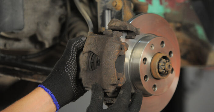 Replacing Brake Pads on Opel Corsa S93 1993 1.0 i 12V (F08, F68, M68) by yourself
