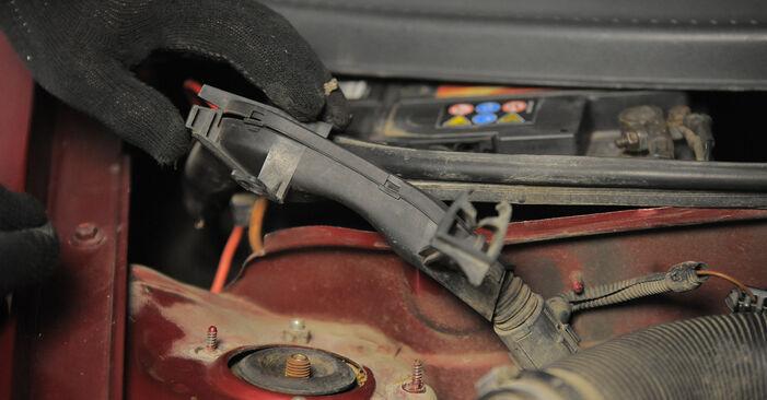 Corsa B Hatchback (S93) 1.5 TD (F08, F68, M68) 1994 Lengéscsillapító csináld magad csere szervizelési útmutató