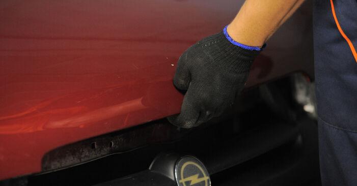 OPEL Corsa B Hatchback (S93) 1.0 i 12V (F08, F68, M68) 1994 Lengéscsillapító csere – minden lépést tartalmazó leírások és videó-útmutatók