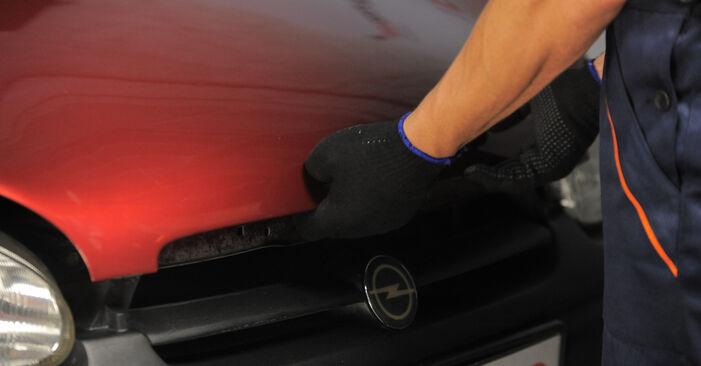 Jak dlouho trvá výměna: Odpruzeni na autě Opel Corsa S93 2001 - informační PDF návod