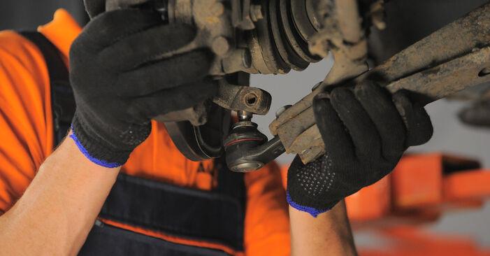 Смяна на Opel Corsa S93 1.2 i 16V (F08, F68, M68) 1995 Шарнири: безплатни наръчници за ремонт