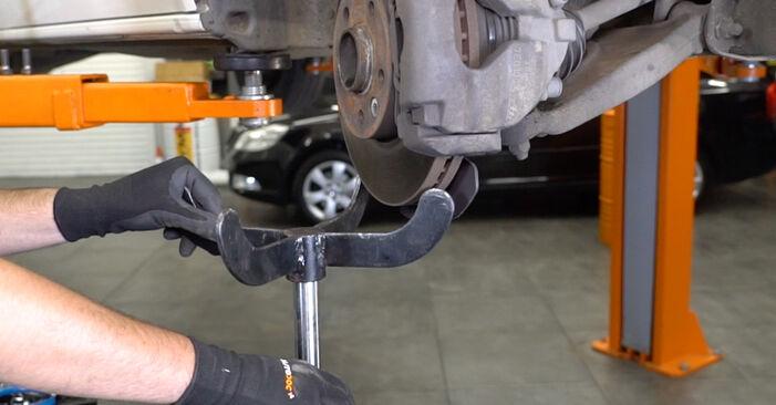 Austauschen Anleitung Federn am VW T5 Kasten 2013 2.5 TDI selbst