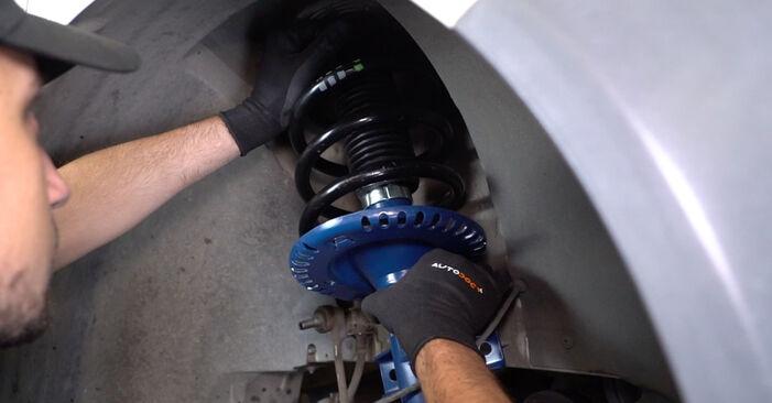 Federn am VW Transporter V Kastenwagen (7HA, 7HH, 7EA, 7EH) 2.5 TDI 4motion 2008 wechseln – Laden Sie sich PDF-Handbücher und Videoanleitungen herunter
