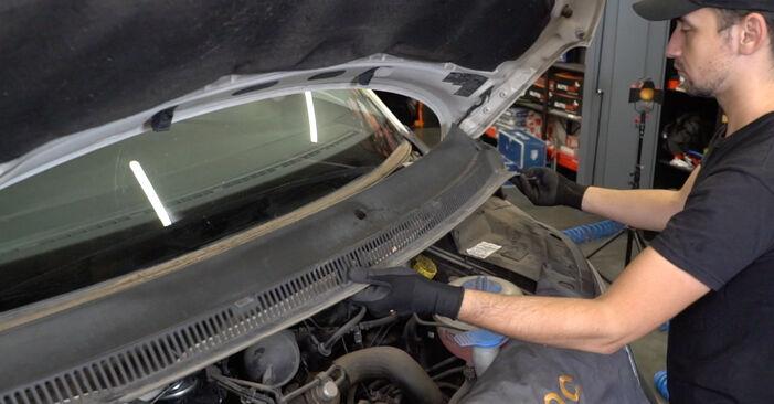 Federn beim VW TRANSPORTER 2.0 TDI 2010 selber erneuern - DIY-Manual
