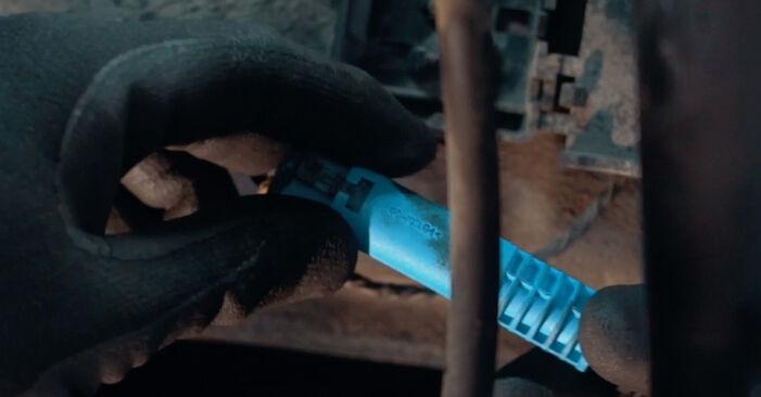 Austauschen Anleitung ABS Sensor am BMW X3 E83 2004 2.0 d selbst