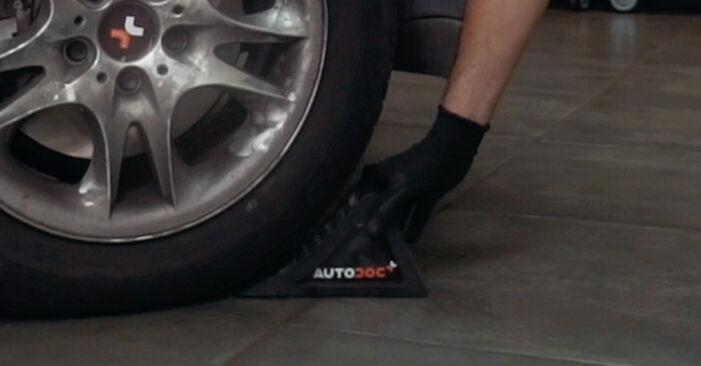 ABS Sensor beim BMW X3 xDrive30d 3.0 2010 selber erneuern - DIY-Manual