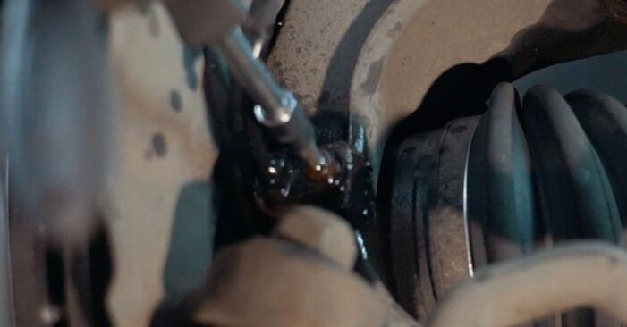 ABS Sensor am BMW X3 (E83) 2.5 i 2008 wechseln – Laden Sie sich PDF-Handbücher und Videoanleitungen herunter
