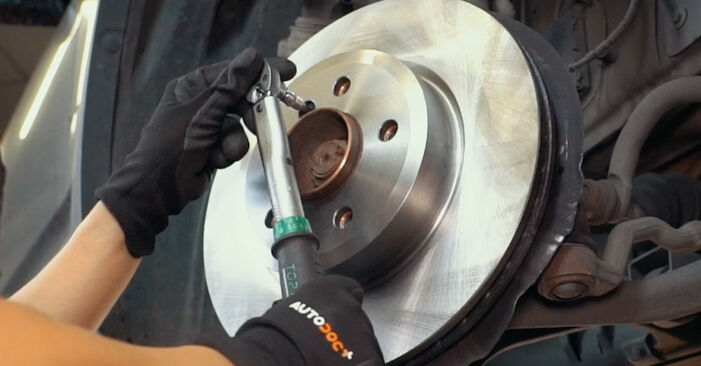 How to replace Brake Discs on BMW X3 (E83) 2008: download PDF manuals and video instructions