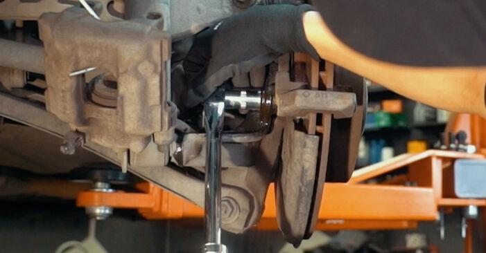 Schritt-für-Schritt-Anleitung zum selbstständigen Wechsel von BMW X3 E83 2007 3.0 sd Bremsscheiben