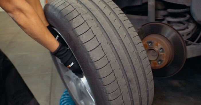 Wie BMW X3 3.0 sd 2007 Bremsscheiben ausbauen - Einfach zu verstehende Anleitungen online