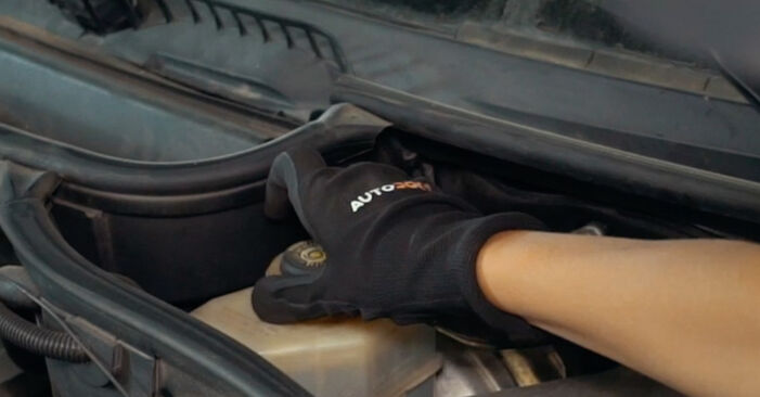 How to change Brake Pads on BMW X3 E83 2003 - free PDF and video manuals