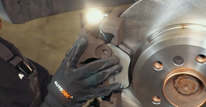 How to replace BMW X3 (E83) 2.0 d 2004 Brake Pads - step-by-step manuals and video guides