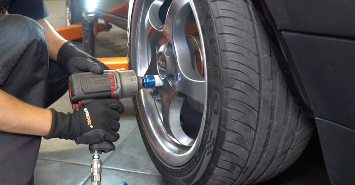 Wie VW GOLF 1.6 1987 Bremsbeläge ausbauen - Einfach zu verstehende Anleitungen online