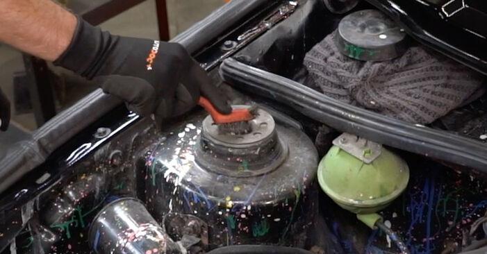 Domlager VW GOLF II (19E, 1G1) 1.8 GTI 16V 1985 wechseln: Kostenlose Reparaturhandbücher