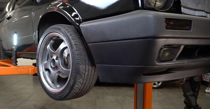 Kuidas eemaldada VW GOLF 1.6 1987 Rattalaager - hõlpsasti järgitavad juhised online