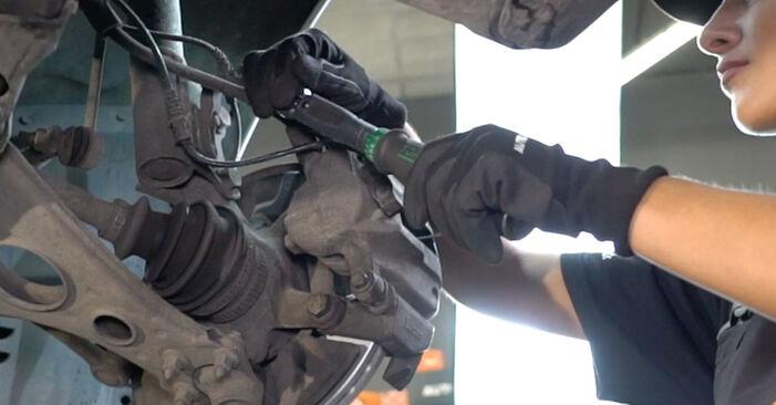 Wechseln Bremsbeläge am MERCEDES-BENZ A-Klasse (W168) A 170 CDI 1.7 (168.008) 2000 selber