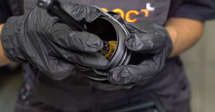 How to change Oil Filter on Mercedes W168 1997 - free PDF and video manuals