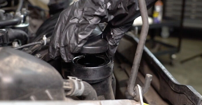 Changing of Oil Filter on Mercedes W168 1997 won't be an issue if you follow this illustrated step-by-step guide