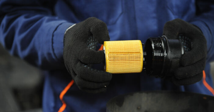 Changing of Oil Filter on Fiat Punto 188 2007 won't be an issue if you follow this illustrated step-by-step guide
