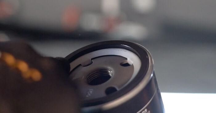 Tausch Tutorial Ölfilter am FIAT PUNTO (188) 2011 wechselt - Tipps und Tricks