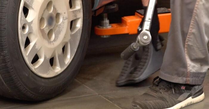 Sostituire Molla Ammortizzatore su FIAT PUNTO (188) 1.3 JTD 16V 1999 non è più un problema con il nostro tutorial passo-passo