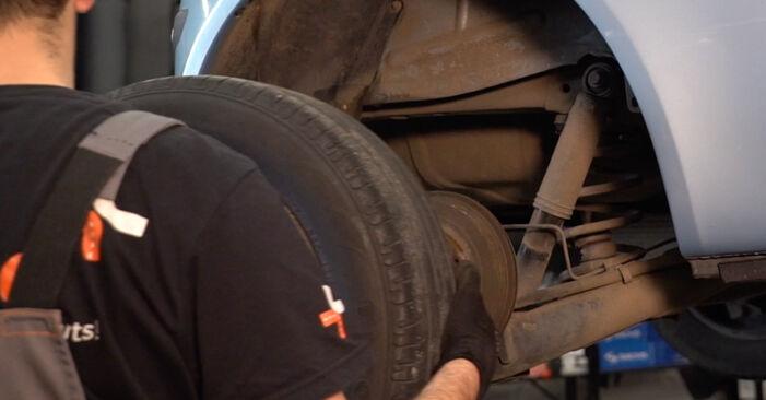 Come rimuovere FIAT PUNTO 1.9 JTD 2003 Molla Ammortizzatore - istruzioni online facili da seguire