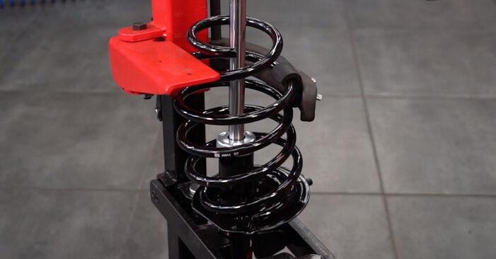 Schritt-für-Schritt-Anleitung zum selbstständigen Wechsel von Fiat Punto 188 2012 1.9 JTD Stoßdämpfer