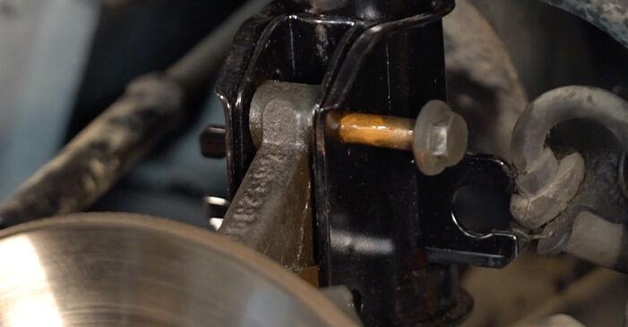 Stoßdämpfer Ihres Fiat Punto 188 1.9 DS 60 2007 selbst Wechsel - Gratis Tutorial