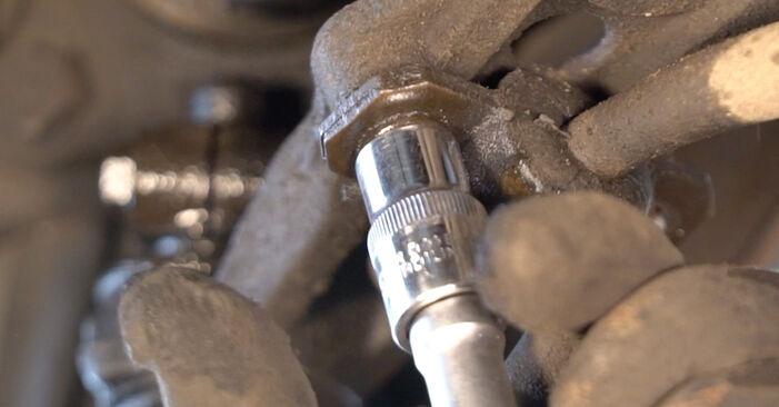 Wie schwer ist es, selbst zu reparieren: Koppelstange Fiat Punto 188 1.4 2005 Tausch - Downloaden Sie sich illustrierte Anleitungen