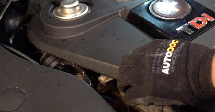 Passat 3B6 1.8 T 20V 1998 Fuel Filter replacement: free workshop manuals