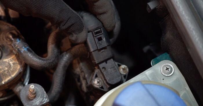VW PASSAT 1997 Горивен филтър стъпка по стъпка наръчник за смяна