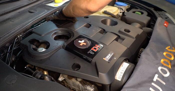 Faites-le vous-même : tutoriel en ligne pour le changement de VW PASSAT Filtre à Huile