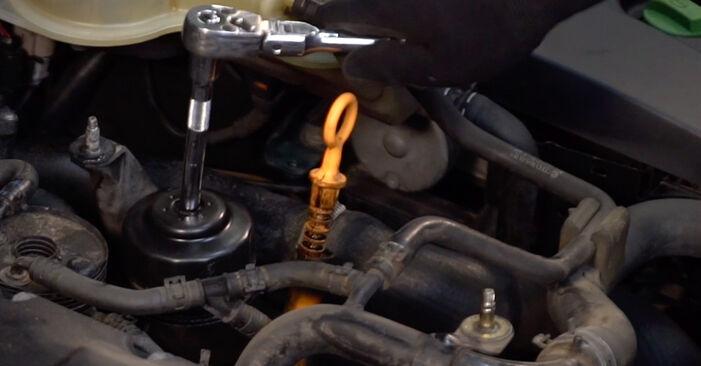 Ölfilter am VW PASSAT Variant (3B6) 2.8 4motion 2001 wechseln – Laden Sie sich PDF-Handbücher und Videoanleitungen herunter