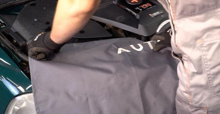 Cómo reemplazar Amortiguadores en un VW PASSAT Variant (3B6) 1.9 TDI 1997 - manuales paso a paso y guías en video